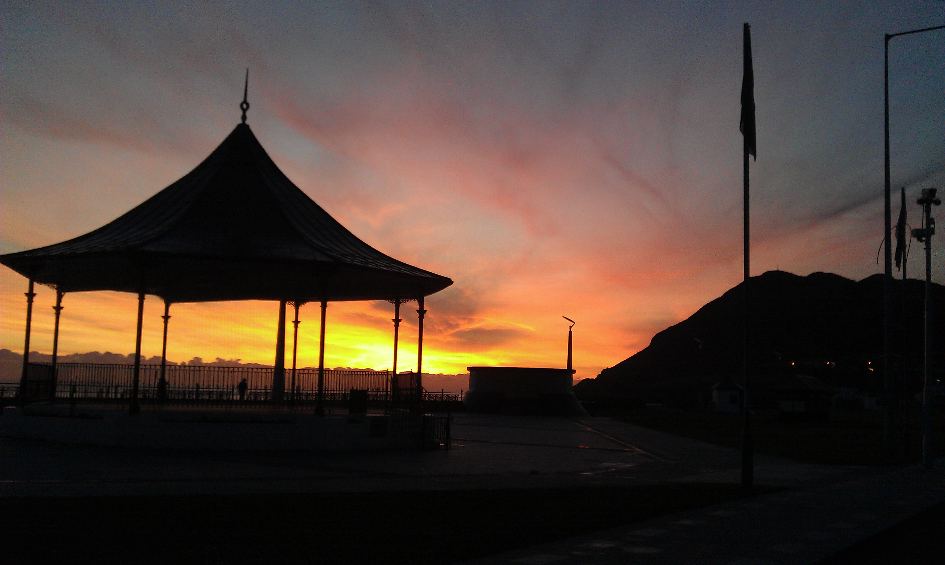 I miss the sunrises in Bray