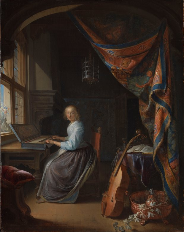 Pair of paintings from Dutch golden age reunited after 351 years