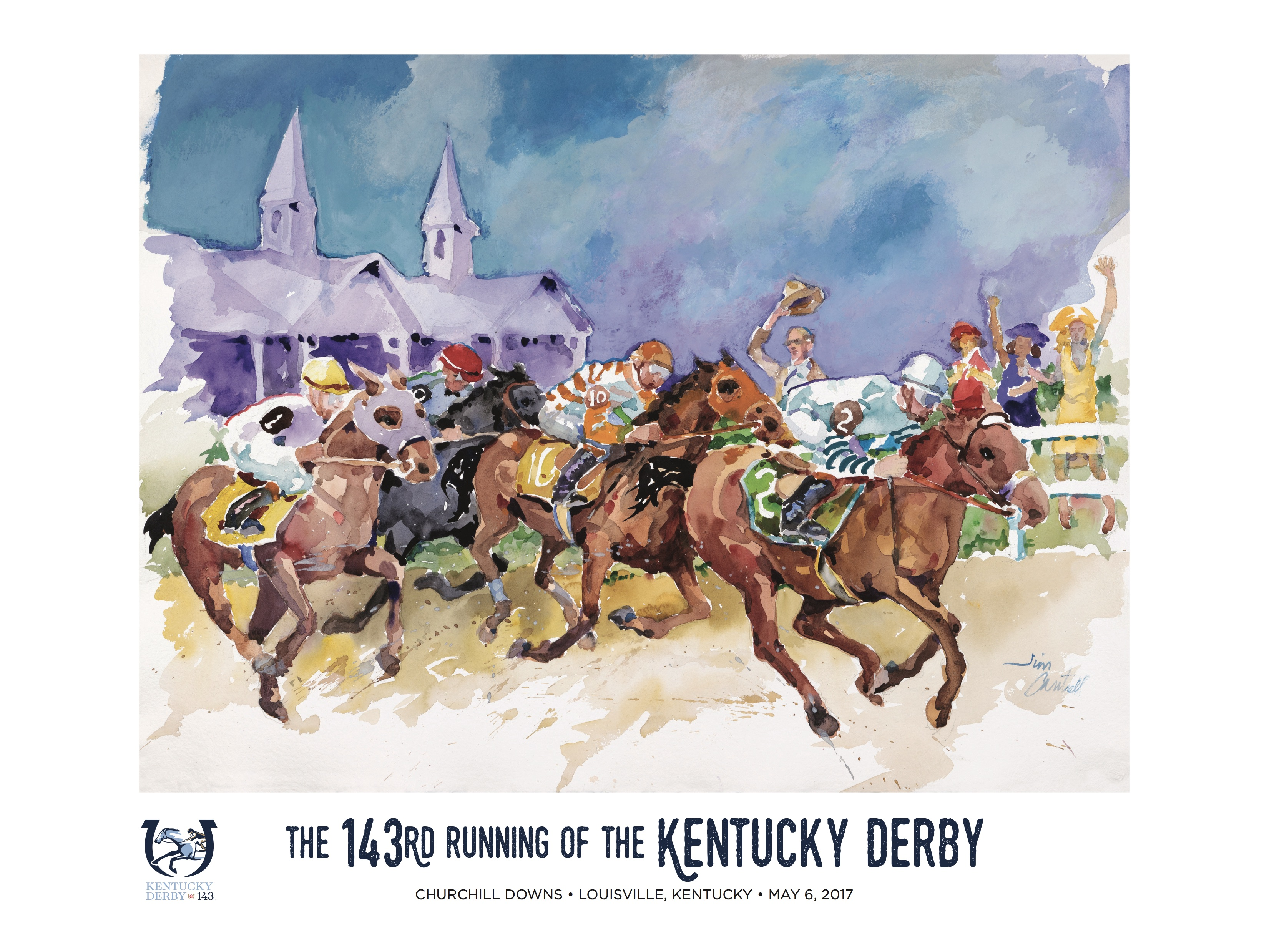 Jim Cantrell First KY Artist Selected To Create Official 'Art Of The Kentucky Derby'