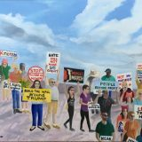 Trump protest paintings part of art exhibition in Lake Worth