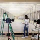 Maine artist makes what may be the world's largest watercolor