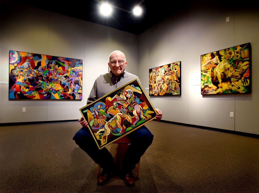 Ceremony to honor artist George Gogas' 'Odyssey'