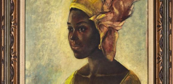 Family discovered they owned a forgotten Ben Enwonwu portrait valued at $200,000